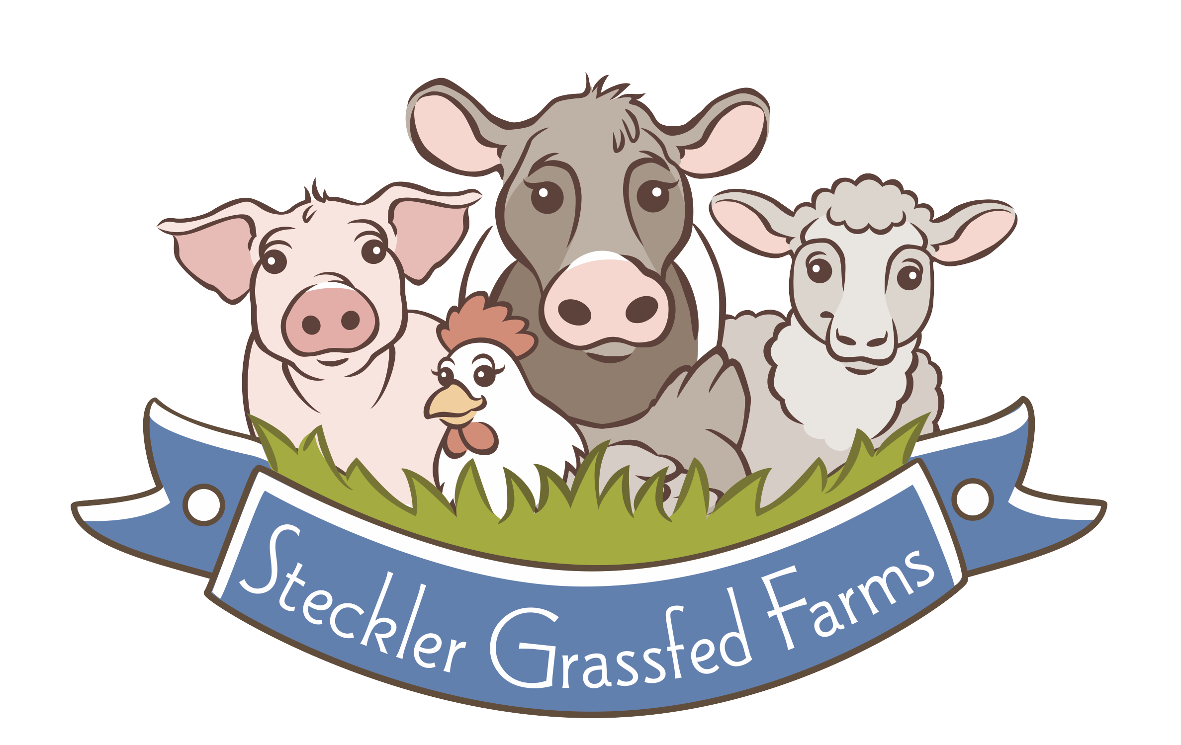 Website Steckler Grassfed Farms Logo Know farmer